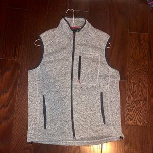 Orvis Sweater Fleece Vest - Gray